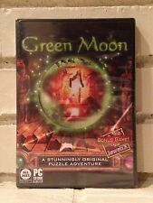 green moon + bonus game jewelix -- 2 mystery adventure computer games -- new