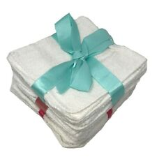 Dozen White Hotel Washcloths Towel 12x12 wash cloths Hand Gym Towel 100% cotton