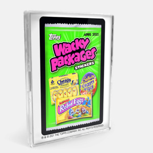 2021 Topps Wacky Packages Monthly Series APRIL Base Set 20 + 1 CL PreSale