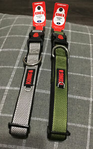 """KONG Padded Dog Collar Neck Size: XL 20-28"""" (50.8-71.1Cm) LOT OF 2 NEW"""