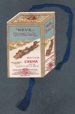 SEGNALIBRO 01 BOOKMARK SIGNET - PUBBLICITÀ PROFUMERIE GIOCONDAL MILANO 1921