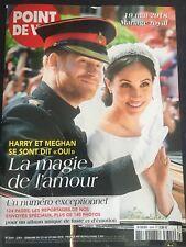 Mariage Harry et Meghan 19 mai 2018 - magazine POINT DE VUE # 3644