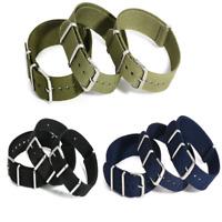 New Army Military Fiber Watchband Woven Nylon Watch Straps Wristwatch Bands