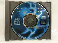 Descent Destination Saturn software, Interplay Productions, Vintage PC Game 1995