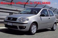 Fiat PUNTO 3° Terza serie (188) Mk3 Manuale Officina ITALIANO SU CD