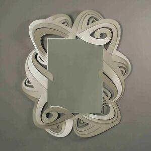 Arti e Mestieri Specchio da parete Penelope Sabbia Metallo