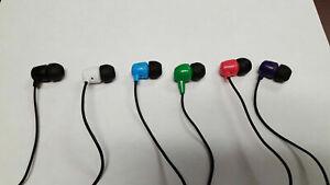 Skullcandy JIB DUB Lightweight In-Ear EarBudS Stereo Earphone Headphones YOU PIC