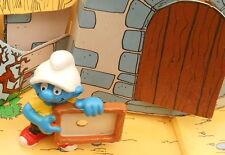 20459 Schtroumpf à l'ardoise smurf puffo Pitufo puffi school schtroumpfette var.
