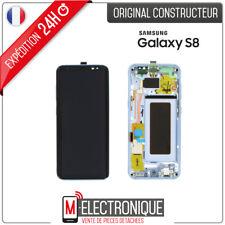 Samsung GH97-20473D Écran LCD avec Vitre Tactile pour Galaxy S8 SM-G950F - Bleu Océan