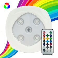 RGB Color Changing LED Lights (Set of 3/6) ,Wireless Remote Control Spotlights
