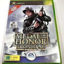 "MEDAL OF HONOR FRONTLINE XBOX ORIGINAL PAL COMPLETE ""GC""  AUZ SELLER"