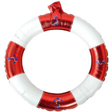SUMMER Nautical INFLATABLE FRAME ~ Birthday Party Supplies Decoration Favor Red