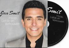 JAN SMIT - Hoop, Liefde en vertrouwen CD SINGLE 4TR Enh Dutch Cardsleeve 2013