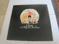 1976 Queen - A Day At The Races LP - 1ST PRESSING