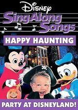 Disney Sing Along Songs - Happy Haunting: Party at Disneyland (DVD, 2006) New