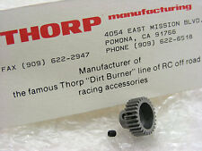 Vintage THORP Dirt Burners 3028 28T 48P Pinion Gear for Kyosho Triumph LAZER ZXR