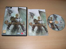 DIVINITY II 2 Ego Draconis Pc DVD Rom Divine RPG  FAST 1st Class POSTAGE