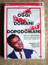 Oggi, domani, dopodomani - con Marcello Mastroianni - dvd