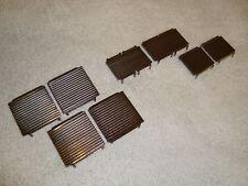 LGB 21490 SERIES AMTRAK GENESIS SIDE BODY VENTILATION GRILL PARTS SET OF 8 PCS!