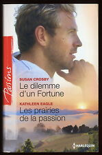 Livre HARLEQUIN..Collection PASSIONS...n° 450..2 Romans