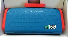 mifold Grab-and-Go Compact Portable Car Booster seat (colour: Blue) (bubble Bum)