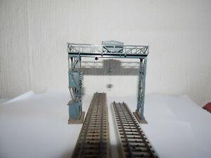 HO 00 OO gauge over track gantry crane for Depot dock side sidings works kibri