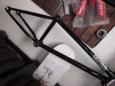 "UNITED s&m Fit BMX bike FRAME 21""tt REGION BAD ASS & BLACK Oval tapered 2017 new"