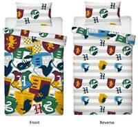 Harry Potter Stickers Single Official Duvet Cover Reversible Bedding Set Boys