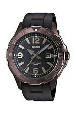 Casio Collection Herrenarmbanduhr Edelstahl  Schwarz Datum MTD-1073-1A1VEF