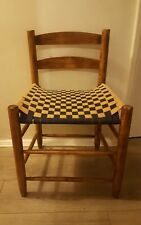 Vintage Ercol Style woven seat Bedroom lounge chair