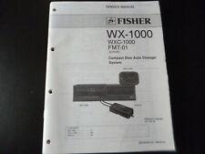 Original Service Manual Schaltplan Fisher WX-1000