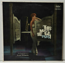 Plas Johnson - This Must Be The Plas! - Capitol - Mono - NM