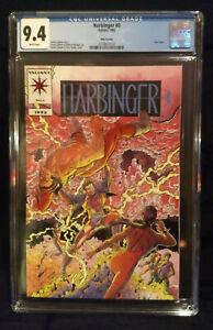 HARBINGER #0   CGC  9.4 NM  NEW CASE   Pink Variant