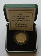 More details for 1990 silver piedfort five pence coin
