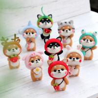 Wool Felt Craft Diy Handmade Toy Animal Doll Wool DIY Needle Felting Pack Cw
