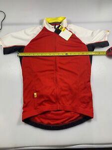 Jerseys mavic aksium black//red xl s