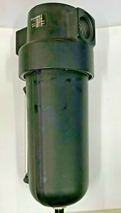 """Norgren F17 Compressed Air Filter  F17-800-A3DA 1"""" Metal Bowl with  Auto Drain"""