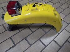 Heckfender Schutzblech hinten gelb original Rücklicht   Suzuki LS650 Savage