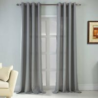 RT Designers Collection Asbury Jacquard Grommet Single Curtain Panel