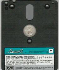 PROGRAMMING UTILITIES, DR LOGO & HELP Disc For AMSTRAD PCW 8256 & 8512 Computers