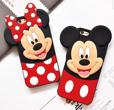 COVER TPU ORECCHIE DISNEY 3D IPHONE 6 6S 7 8 PLUS X XS XS MAX XR 11 PRO MAX