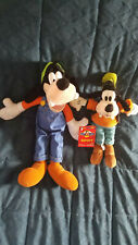 """DISNEY* ~~ TWO (2) Different GOOFY ~~ approx. 16""""t and 10""""t ~~ Plush"""