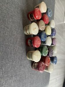 Bundle Of 20 Yankee Candles Various Scents