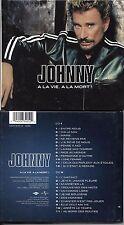 2CD 23T JOHNNY HALLYDAY A LA VIE A LA MORT DE 2002 CD LIVRE DIGIBOOK TBE