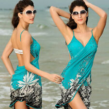 Women Beach Dress Bikini Cover-ups Summer Swimming Skirts Sarong Wrap Wear