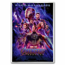 AVENGERS ENDGAME - MARVEL MOVIE POSTER - 2019 1 oz Pure Silver Collectible Foil