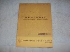 Heathkit AM-2 Reflected Power Meter Assembly Manual