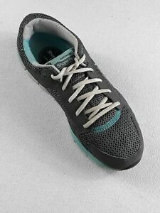Sketchers Shape Ups Fitness LIV Womens Sz 10 Toning Walking Shoes Gray/Blue