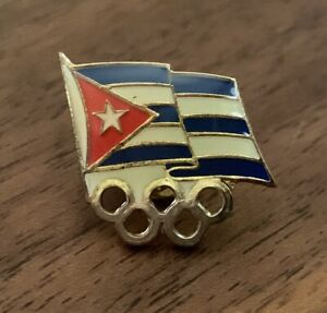 Cuba Undated National Olympic Committee NOC Pin