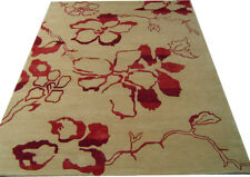 India 270x365 9x12 Hand Knotted Indo Tibet Nepalese Wool Art Silk Carpet Rug